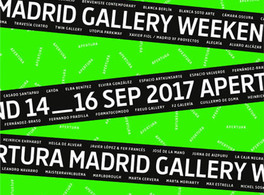 "Casa Árabe con ""Apertura. Madrid Gallery Weekend"""