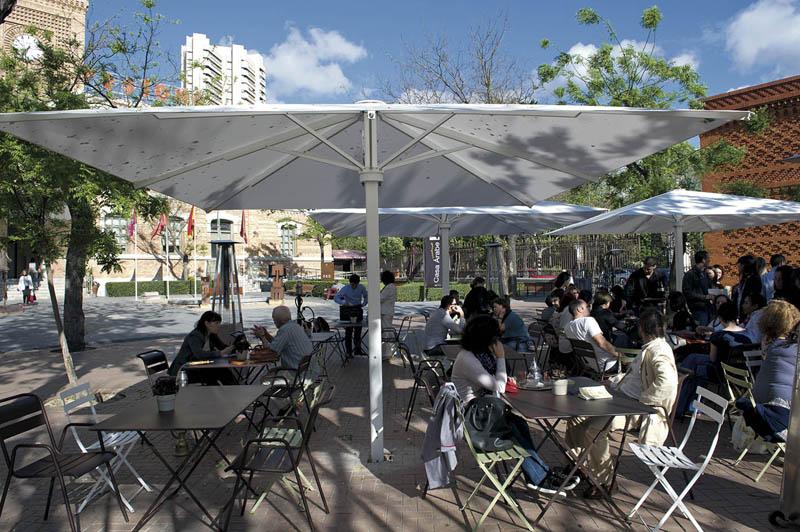 Casa árabe Terraza Al Aire Libre En Casa árabe En Madrid